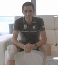 (Twitter oficial Alberto Contador)