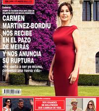portada revista hola carmen-martinez-bordiu en pazo meiras
