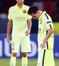 El Barça en la derrota (Foto FCB)