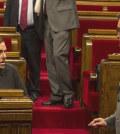 Oriol Junqueras y Artur Mas (Foto Parlament de Catalunya)