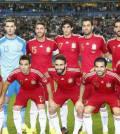 La Roja, España, en su nueva alineación