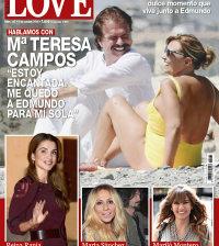 María Teresa Campos, en la portada de la revista Love de esta semana