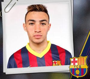 Munir el Haddadi (foto FCB)