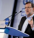 Mariano Rajoy en un mitin del PP (Foto PP)
