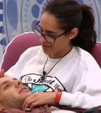 Omar y Lucía de Gran Hermano 15 (Foto captura tv Telecinco)