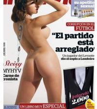 Steisy desnuda en la portada de Interviu