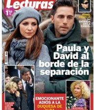 David Bustamante y Paula Echevarría en la revista lecturas
