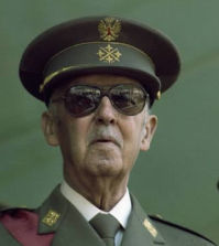 El dictador Franco