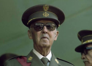 El dictador Franco
