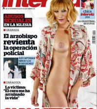 Carla Hidalgo desnuda en Interviu
