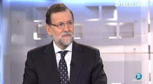 Rajoy en Telecinco