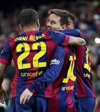 barça gol messi celebracion barcelona