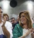 Pedro Sánchez con Susana Díaz (Foto PSOE)