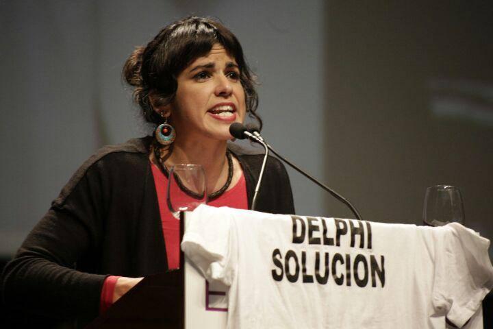Teresa Rodríguez (Foto Podemos)