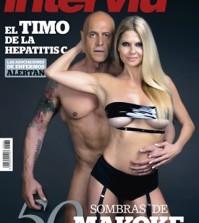 Kiko Matamoros y Makoke, en la portada de Interviú de esta semana