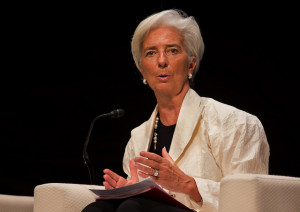 Christine Lagarde (Foto FMI)