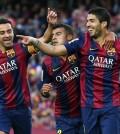Gol del Barça (Foto FCB)