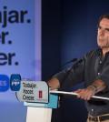 Aznar en un mitin (Foto PP)