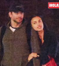 Irina Shayk con Bradley Cooper en Hola