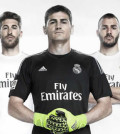 Nueva camiseta del Real Madrid para la temporada 2015/2016