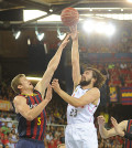 Real Madrid-Barcelona de baloncesto (Foto ACB)
