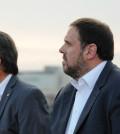 Artur Mas y Oriol Junqueras (Foto CDC)
