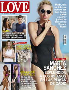 portada de la revista love