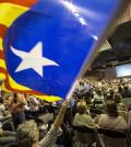 Banderas independentistas catalanas (Foto: Junts Pel Sí)