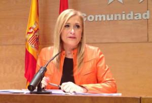 Cristina Cifuentes (Foto: Madrid.org)
