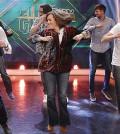 Soraya bailando en El Homiguero