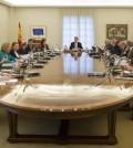 Rajoy y su último Consejo de Ministros en diciembre de 2015 (Foto Moncloa)
