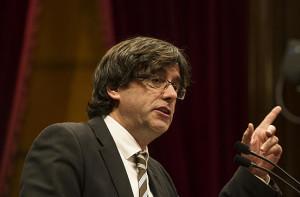 Carles Puigdemont (Foto Parlament)