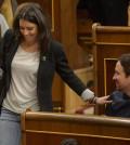 Pablo Iglesias e Irene Montero (Foto Podemos)