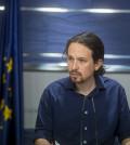 Pablo Iglesias en rueda de prensa (Foto: Podemos)
