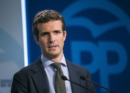 El vicesecretario de Comunicación del PP, Pablo Casado (Foto: PP)
