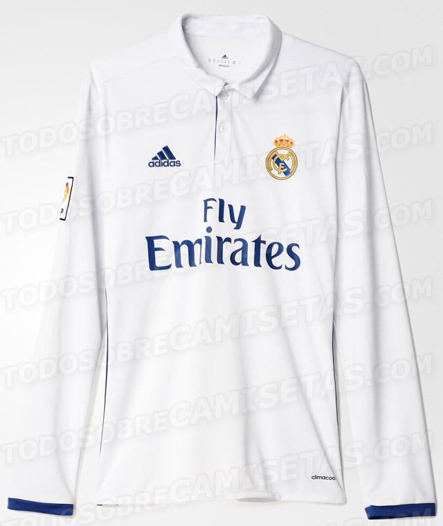 eccfeaa187294 La nueva camiseta del Real Madrid para la temporada 2016 2017