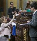 Ana Pastor durante la votación en el Congreso (Foto: PP)