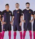 Segunda equipación del Barça