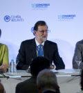 Rajoy, Cospedal y Martínez-Maillo en el nuevo órgano de gobierno del PP (Foto: PP)