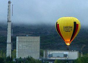 Central nuclear de Garoña (Foto: Greenpeace)