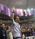 Pablo Iglesias en la Asamblea de Podemos (Foto Podemos)