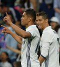 Ronaldo y Casemiro (Foto: Real Madrid)