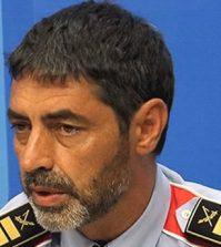 El jefe de los Mossos d'Esquadra, Josep Lluís Trapero