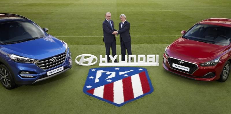 Hyundai Motor y el Atlético de Madrid