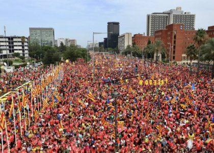 Manifestación Diada (Foto: ANC)