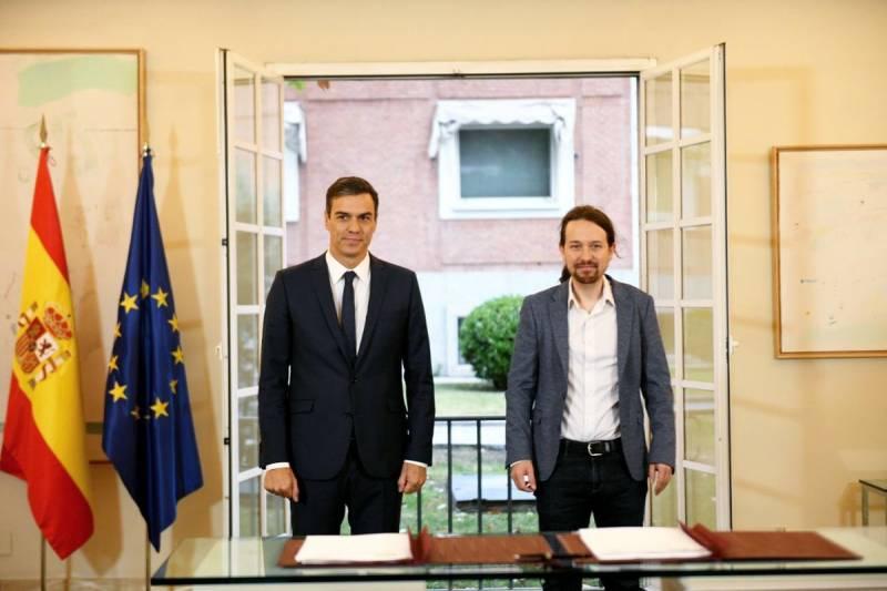 Pedro Sánchez y Pablo Iglesias (Foto: Podemos)