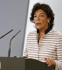 La ministra Portavoz del Gobierno, Isabel Celaá (Foto: Pool Moncloa/ J.M Cuadrado)