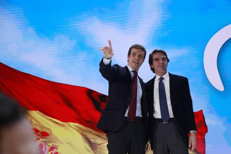 Casado y Aznar (Foto: PP)