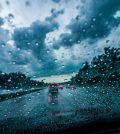 temporal lluvia coche