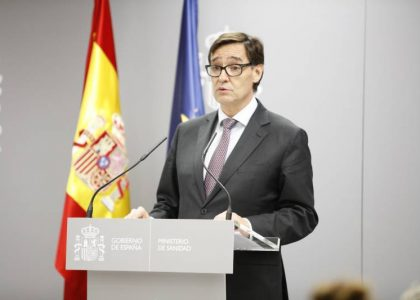 Salvador Illa (Foto: Ministerio de Sanidad)